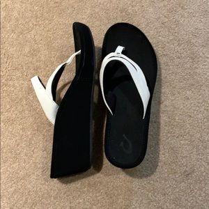 OluKai Women's Kulapa Kai Wedge Sandal